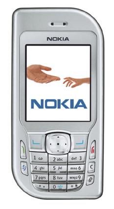 Nokia 6670 front
