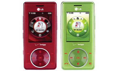 lg chocolate red green