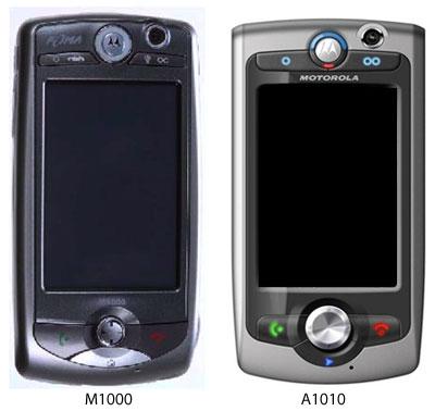 motorola m1000 a1010 comparison
