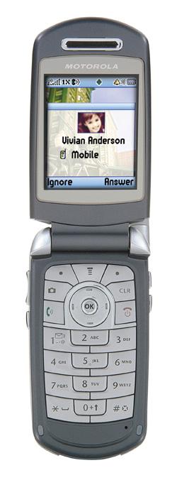 Motorola A840 Open