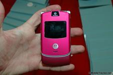Pink Motorola RAZR