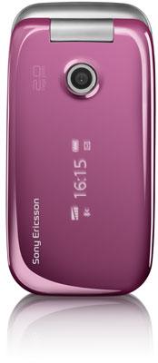 sony ericsson z750 pink