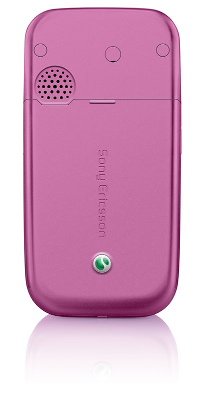 sony ericsson z750 pink back